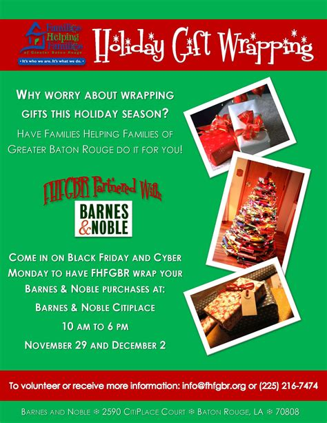 gift wrap fundraising barnes noble gift wrapping fundraiserfamilies helping