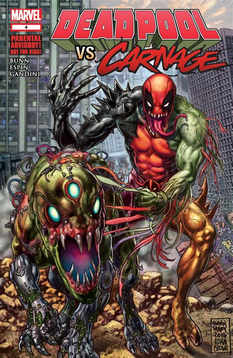 american carnage tales of trumpian dystopia books deadpool vs carnage vol 1 4 marvel database wikia