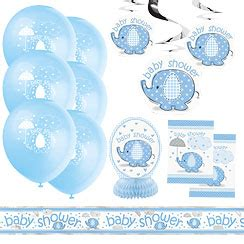 Baby Shower Decoration Kits Uk by Umbrellaphants Blue Supplies Delights