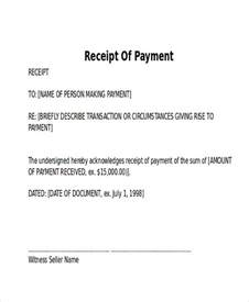 Payment Letter Receipt Of Payment Letter 7 Exles In Word Pdf