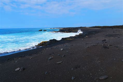 black sand beach big island what on earth am i doing in the big island x days in y