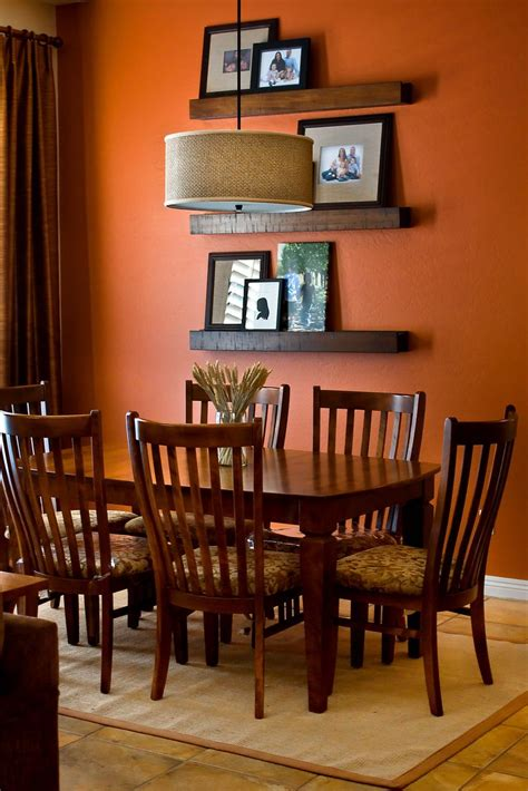 Burnt Orange Dining Room by Budget Amp Family Friendly Dining Room Home Improvement