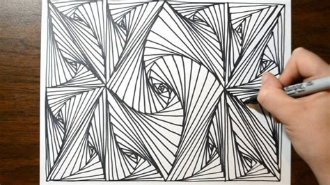 easy pattern sketch cool sketch doodle technique drawing a random pattern