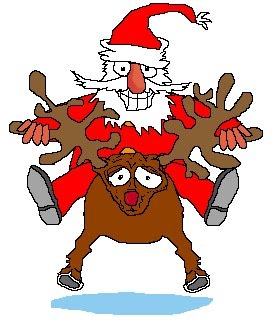 animated photos of christmas santa claus with reindeer animated santa claus photos pictures images