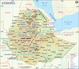 Ethiopia Map In World by Ethiopia Map Map Of Ethiopia