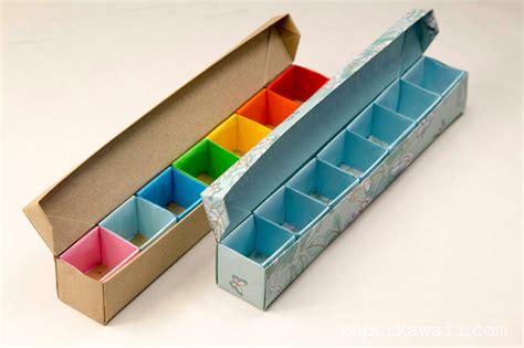 origami pill box origami pill box organizer tutorial paper kawaii