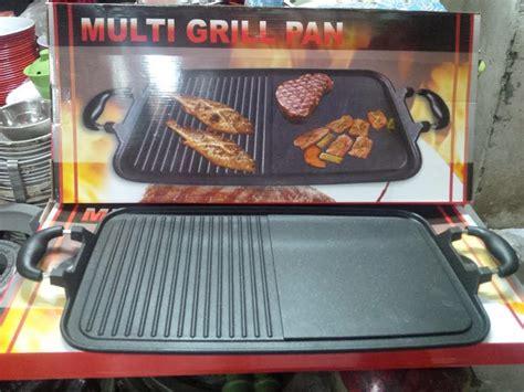 Multi Grill Pan Maxim multi grill pan alat panggangan tanpa arang sangat praktis