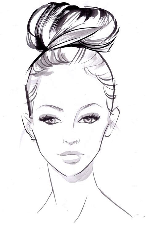 fashion illustration drawing faces best 25 drawing faces ideas on draw faces