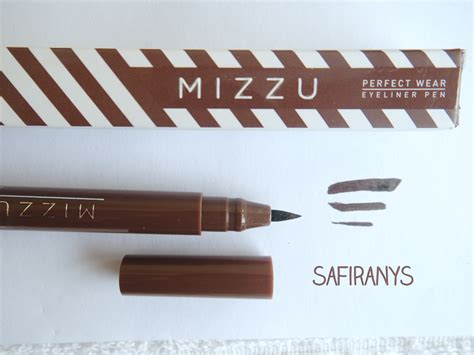 Eyeliner Silkygirl Spidol safira nys review mizzu wear eyeliner pen brown