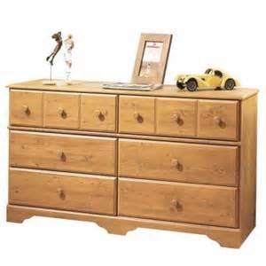 treasure 6 drawer dresser in country pine