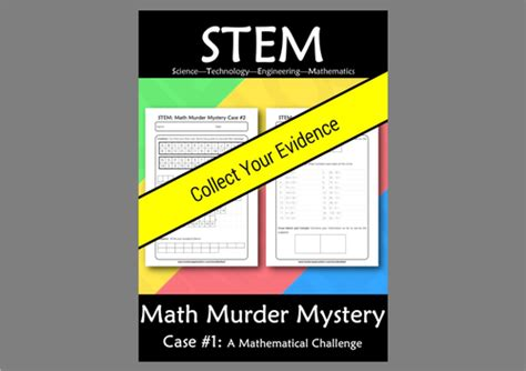 lesson plan for murder a master class mystery master class mysteries books stem math murder mystery 2 a math challenge by