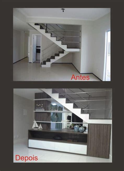 armario tem acento 25 melhores ideias sobre decora 231 227 o da escada no pinterest