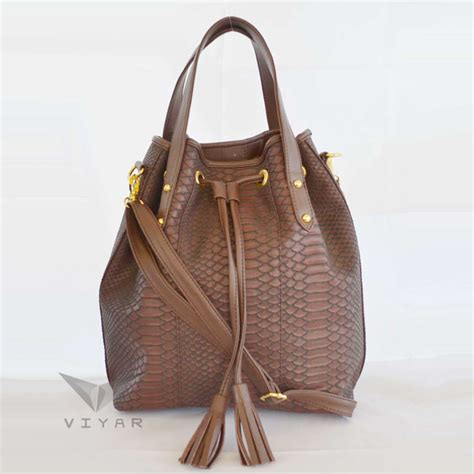 Murah Tas Ransel Wanita Alberio Al 5429 Black tas cangklong selempang motif ular model serut produktaslokalonline