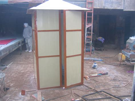 fiberglass security guard cabin container related products