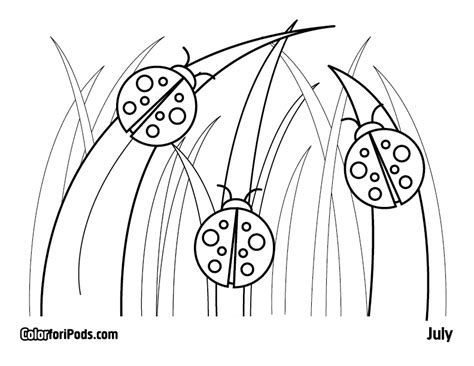 grouchy ladybug coloring page az coloring pages