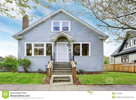 new home house exterior stock photo image of setting simple house exterior view of entrance porch and walkway