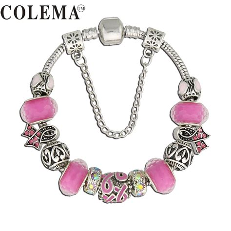 buy wholesale breast cancer awareness bracelet from