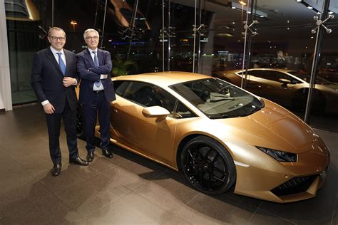 Lamborghini Ceo Lamborghini Ceo Stefano Domenicali With Liborio Stellino