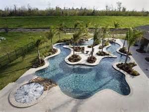 Lazy River Pools For Your Backyard Art Now And Then Swimming Pool Design