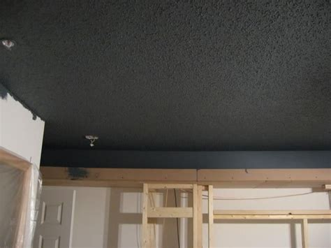 How To Paint From Ceiling by Painted Popcorn Ceiling Oliver S Room