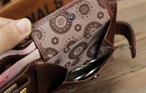 Dompet Pria Bogesi Leather S Wallet Coffee Brown 100 real cowhide leather wallet coin pocket purse carteira masculina brand wallet
