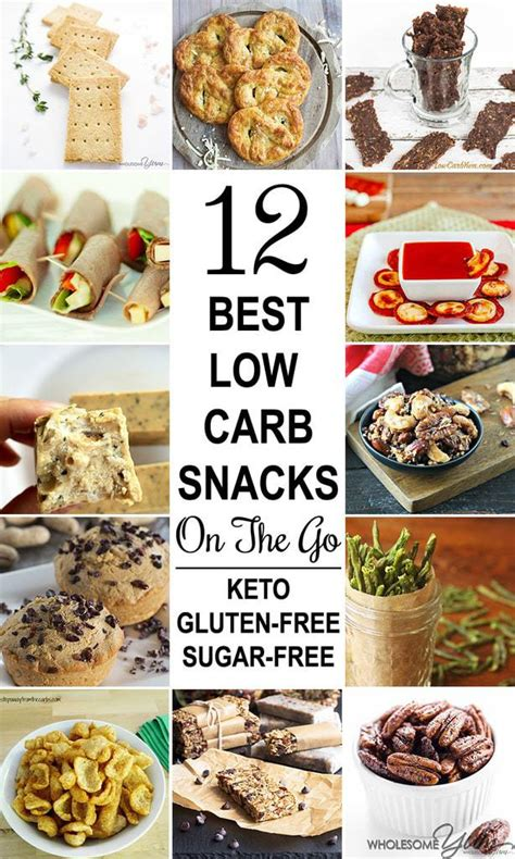 10 Best Low Carb Snack Ideas by Low Carb Meals On The Go Gluten Free Meal Plan