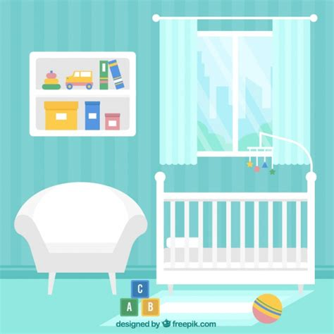 Blue Room With White Furniture by Blue Baby Room With White Furniture Vector Free