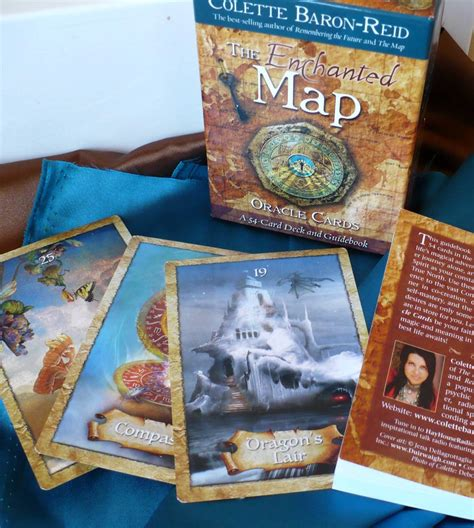 Oracle Gift Card - tarot notes review the enchanted map oracle cards