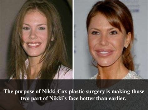 nikki cox before and after plastic surgery nikki cox before plastic surgery pictures to pin on