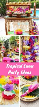 Luau Decorations by 25 Best Ideas About Luau Decorations On