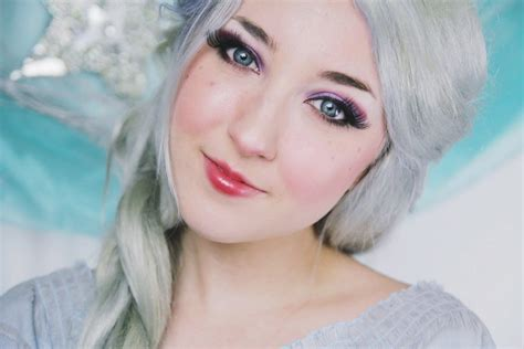 disney makeup tutorial disney s quot frozen quot elsa makeup tutorial youtube