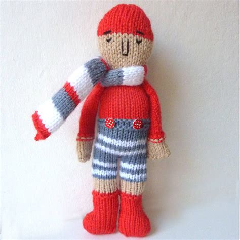 knitting kits sleepy sailor doll knitting kit by gift knitting