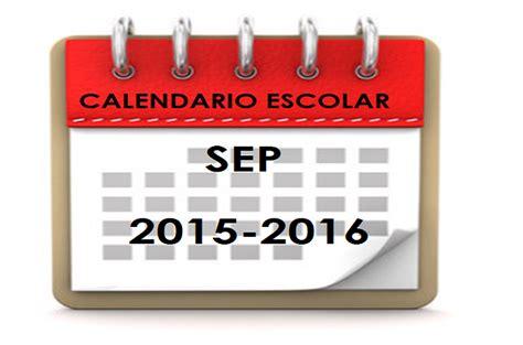 Calendario Oficial Sep 2015 Calendario Escolar Sep 2105 2016