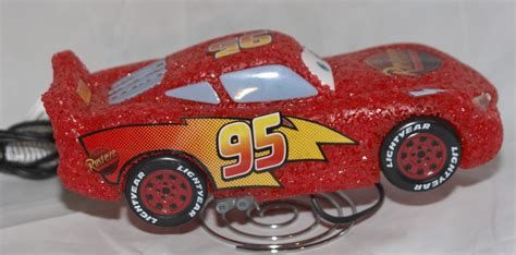 lightning mcqueen night l cars lightning mcqueen night light table l disney pixar