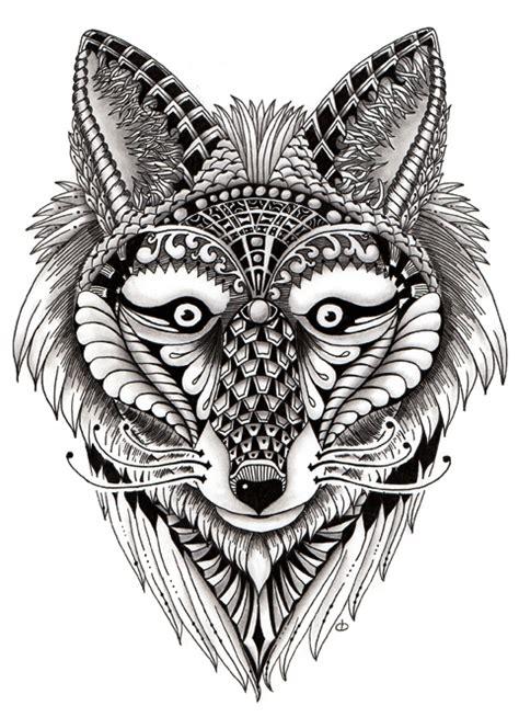 ornate foxy wolf zandiepants