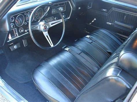 69 Chevelle Interior by 1970 Chevelle Bench Seat Interior Photos
