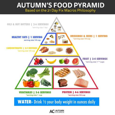 healthy fats 21 day fix autumn s food pyramid autumn calabrese