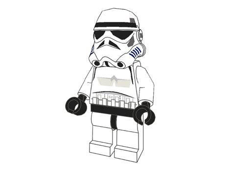 lego stormtrooper coloring page 3d lego models colouring lego stormtrooper downloads