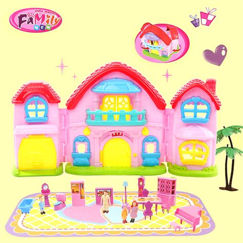 american girl doll house kit doll house furniture miniature plastic dolls pretend toy american girl dollhouse kids