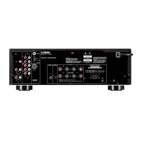 yamaha r s300bl stereo home theater receiver black mch
