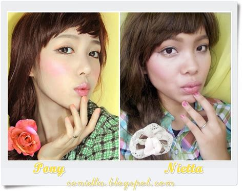 Pensil Alis Rivera makeup contest sasyachi recreate pony conietta cimund