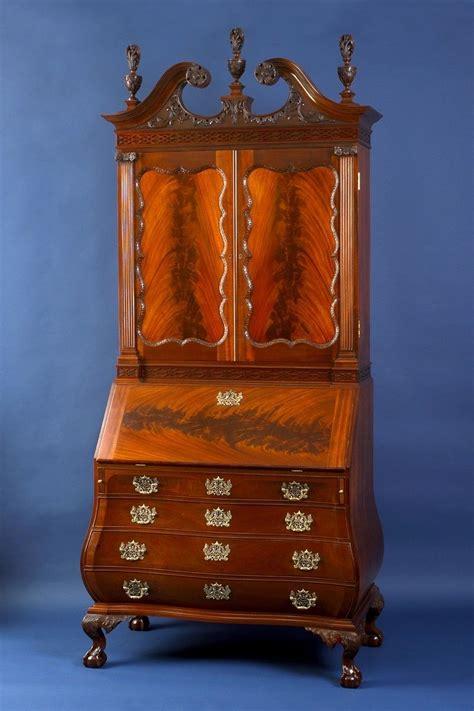Handmade Bombe Secretary Desk By Kinloch Woodworking Ltd Bombe Desk