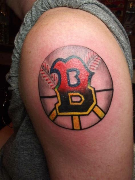 boston b tattoo of the letter b half for boston sox other