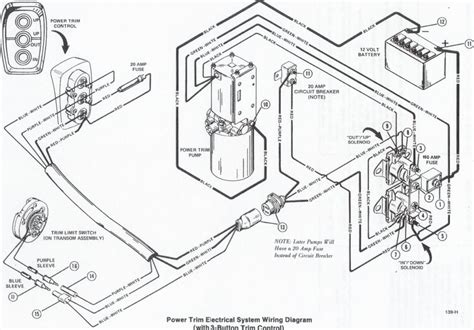 mercruiser trim limit wiring diagram 28 images volvo