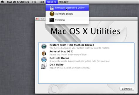 reset windows password mac secure your mac by setting a firmware password quicktip