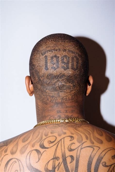 yg head tattoo yg shares the stories his most treasured tattoos
