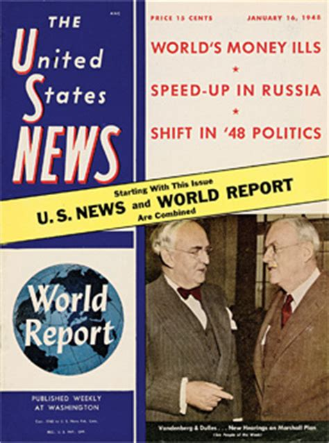 about u s news world report