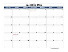 printable  excel calendar templates calendarlabs