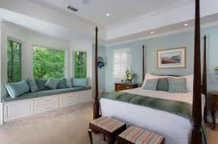 Soothing master bedroom and bathroom