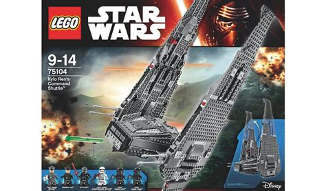 Lego Wars Polybag Kylo Ren S Command Shuttle 30279 lego wars kylo ren s command shuttle 75104 george at asda